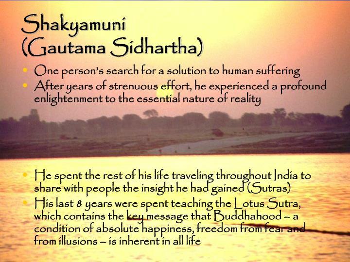 Shakyamuni gautama sidhartha