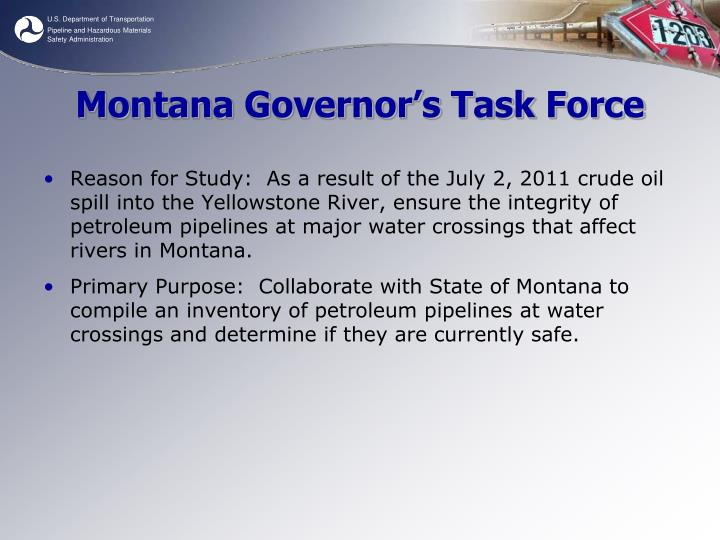 Montana Governor's Task Force