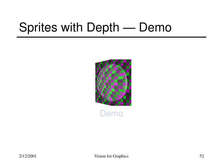 Sprites with Depth — Demo