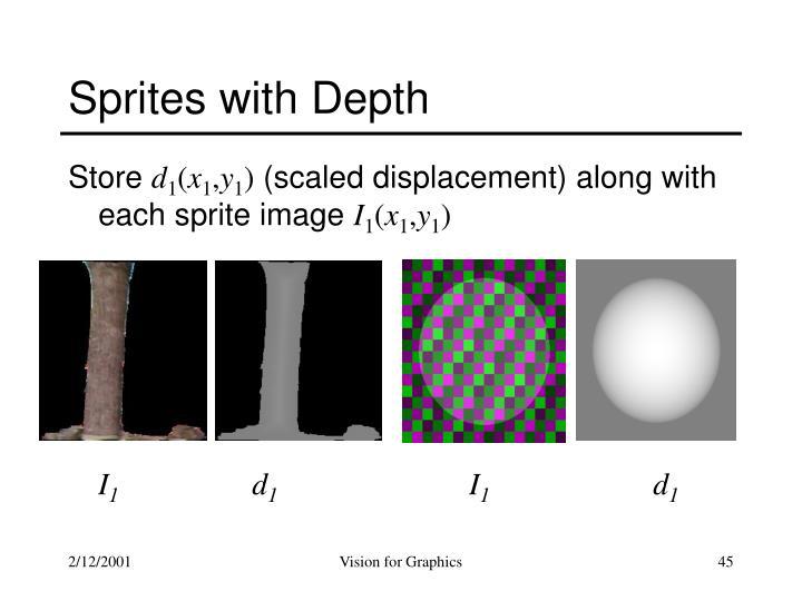 Sprites with Depth