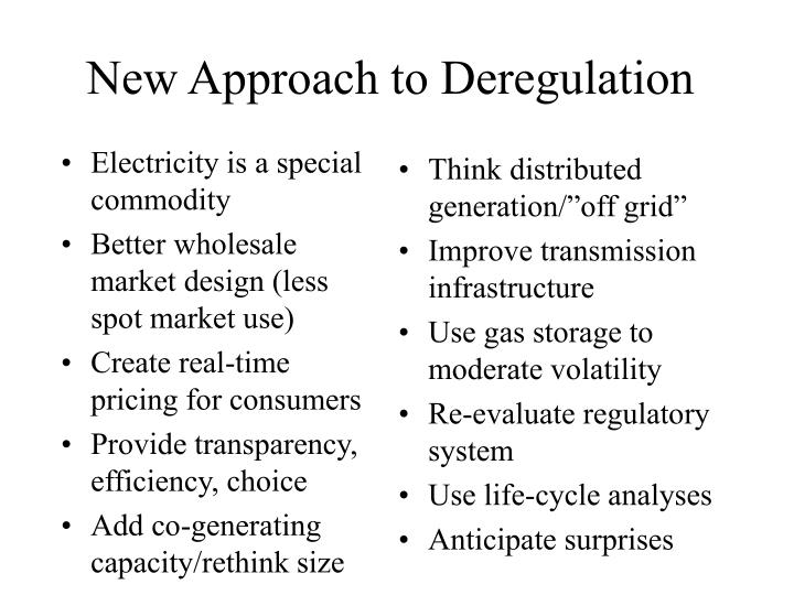 Electricity is a special commodity