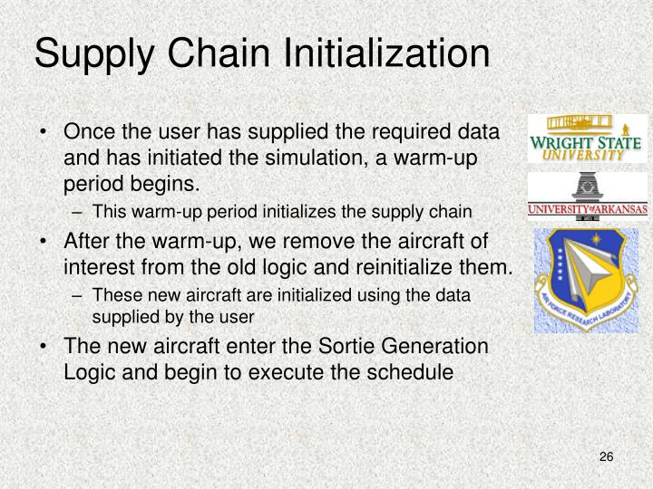 Supply Chain Initialization