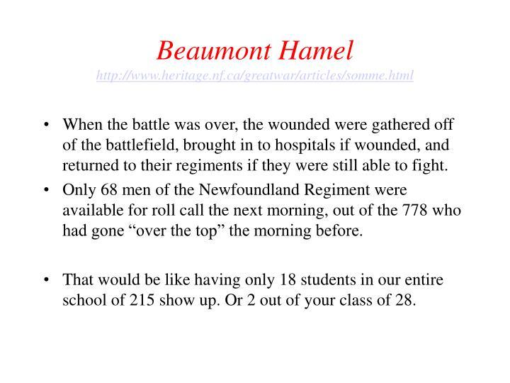 Beaumont Hamel