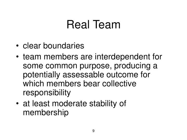 Real Team