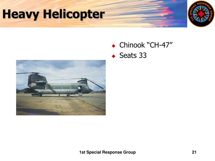 Heavy Helicopter