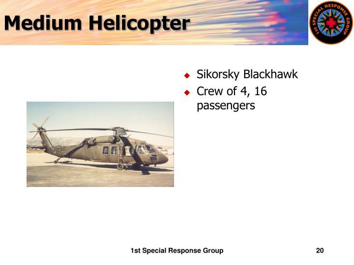 Medium Helicopter