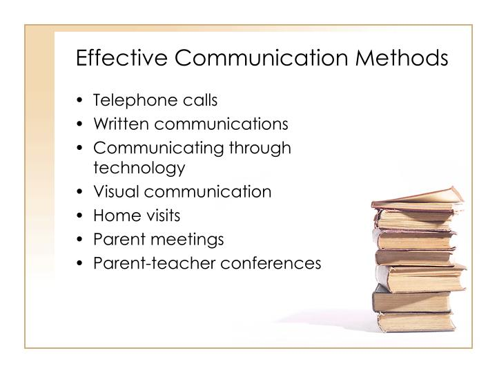Effective Communication Methods