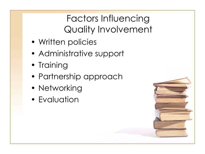Factors Influencing