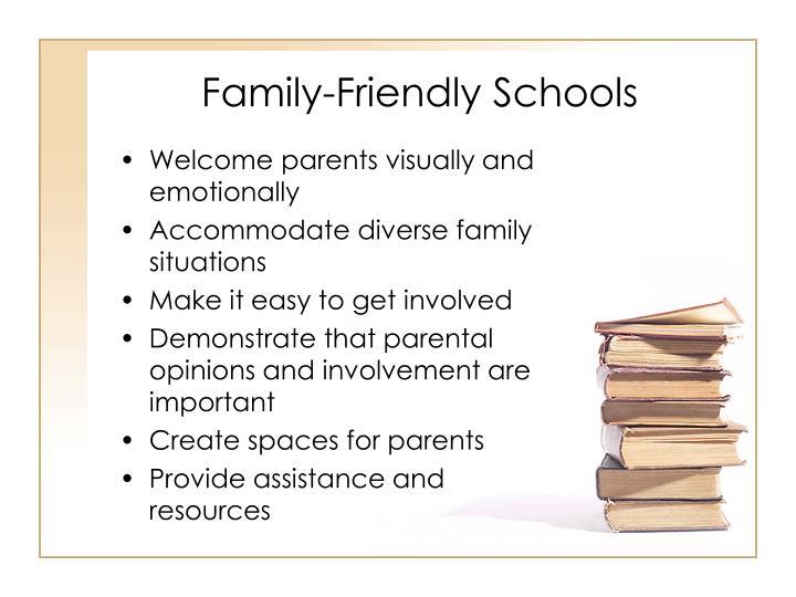 Family-Friendly Schools
