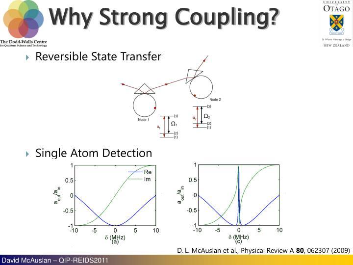 Reversible State Transfer
