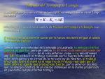 teorema del trabajo y la energ a