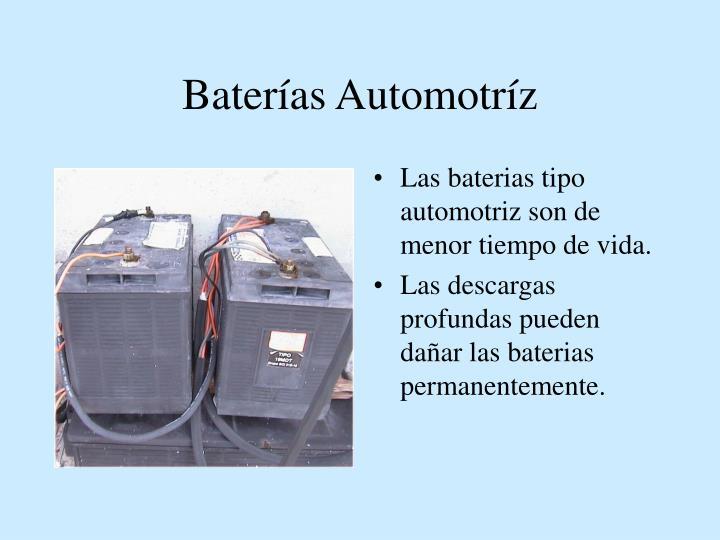 Baterías Automotríz