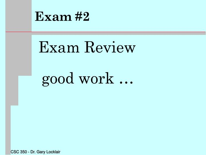 Exam 21