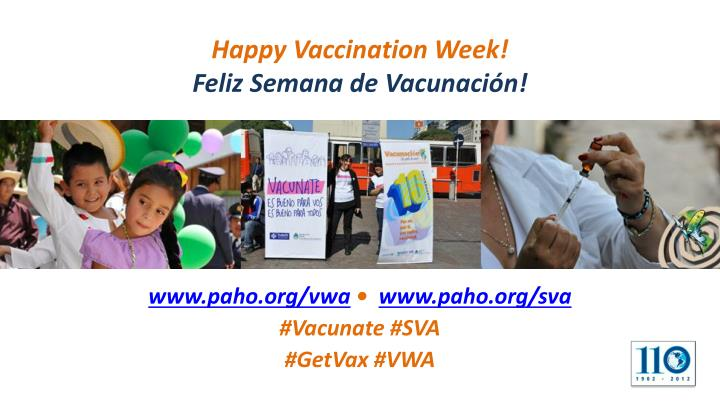 Happy Vaccination Week!