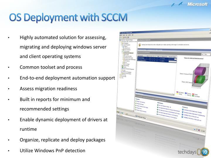 OS Deployment with SCCM