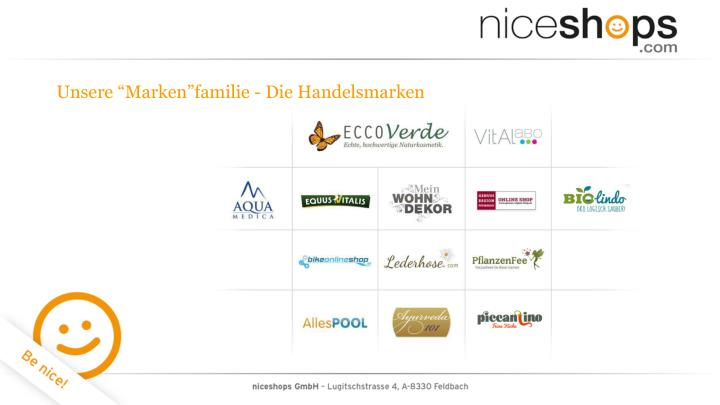 """Unsere """"Marken""""familie - Die Handelsmarken"""