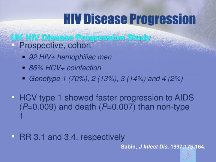 HIV Disease Progression