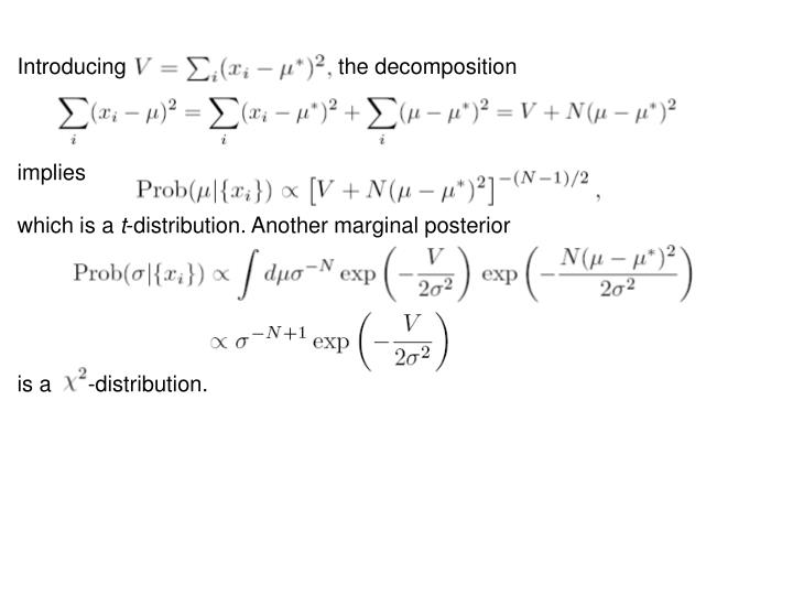 Introducing                                   the decomposition
