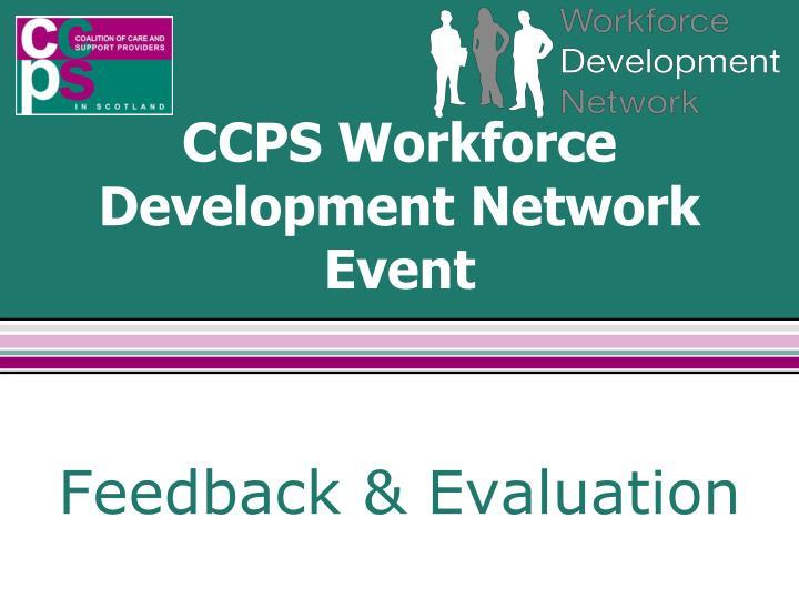 CCPS Workforce Development