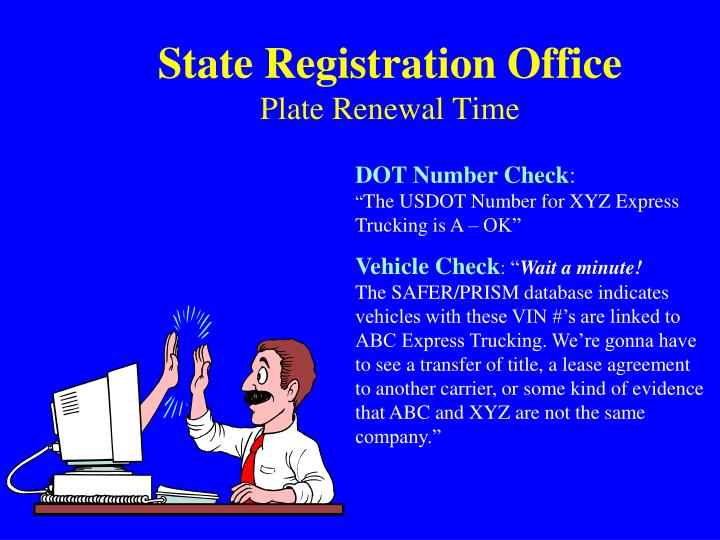 State Registration Office