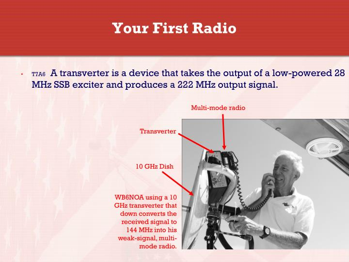 Your First Radio