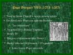 pope gregory vii 1073 1085