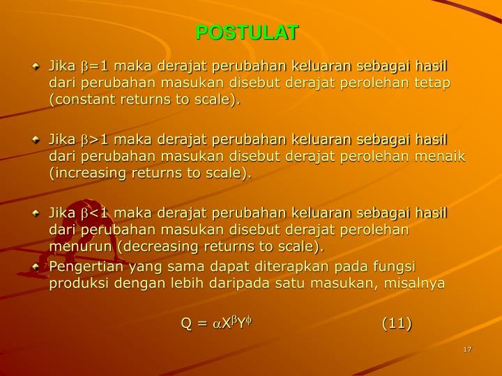 POSTULAT
