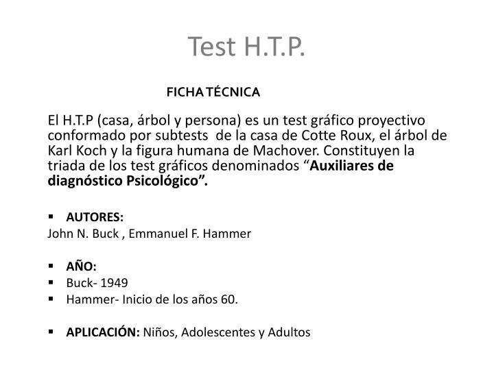 Test H.T.P.