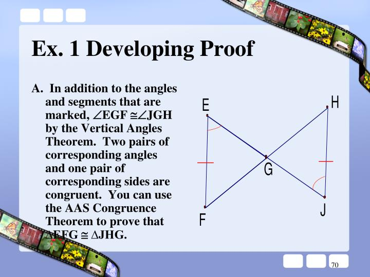 A.  In addition to the angles and segments that are marked,