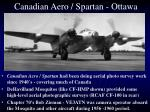 canadian aero spartan ottawa
