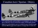 canadian aero spartan ottawa1
