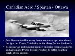 canadian aero spartan ottawa2