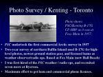 photo survey kenting toronto