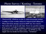 photo survey kenting toronto2