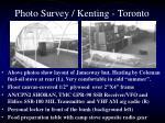 photo survey kenting toronto3