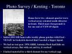 photo survey kenting toronto7