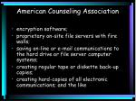 american counseling association1