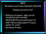 wifi wireless local area network wlan