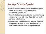 konsep domain spasial1