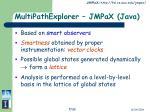 multipathexplorer jmpax java