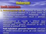 heteroze