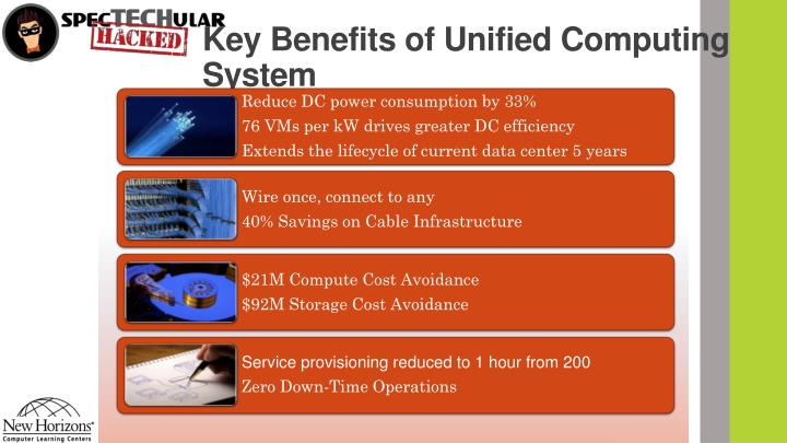 Key Benefits of Unified Computing System