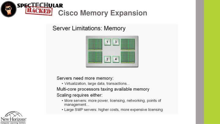 Cisco Memory Expansion
