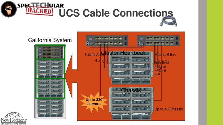 UCS Cable Connections