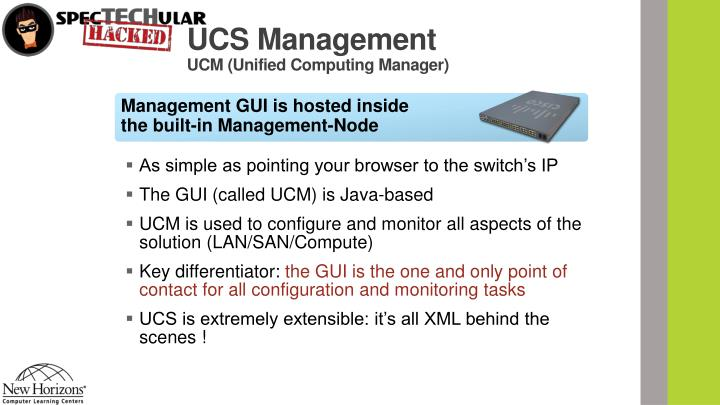 UCS Management