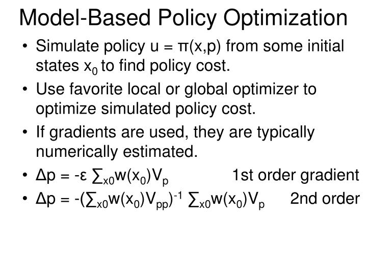 Model-Based Policy Optimization