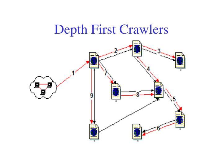 Depth First Crawlers