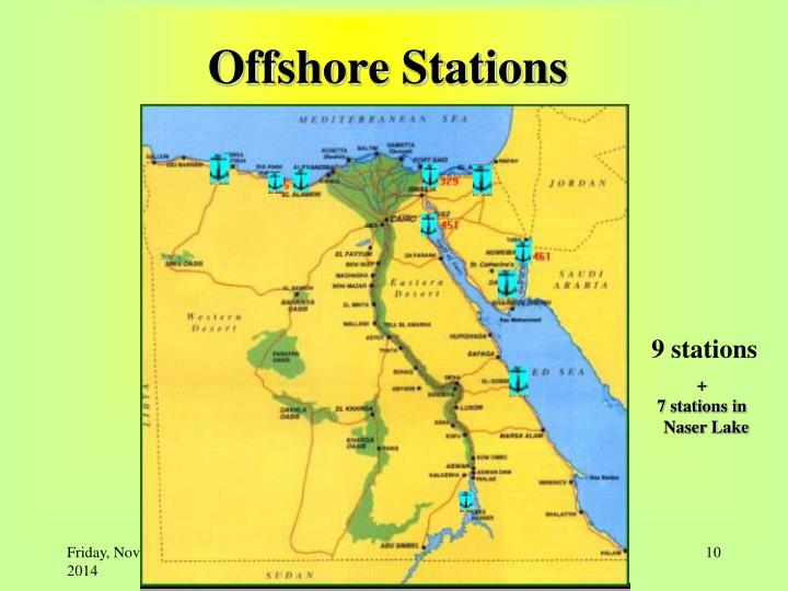 Offshore Stations