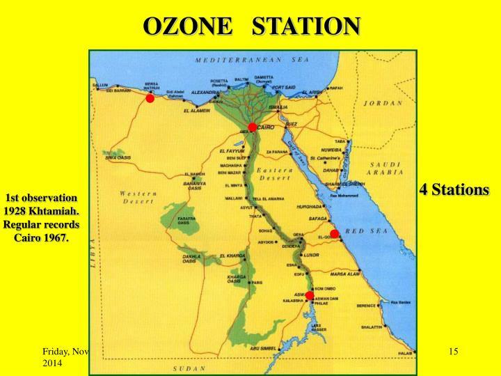 OZONE   STATION