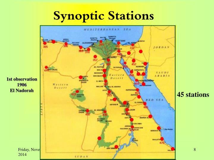 Synoptic Stations